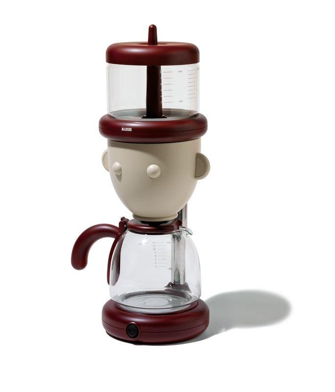 kaffeemaschine mit gesicht