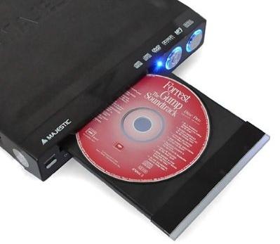 majestic usb dvd player mit divx xvid mp3 mpeg4 usb mit. Black Bedroom Furniture Sets. Home Design Ideas
