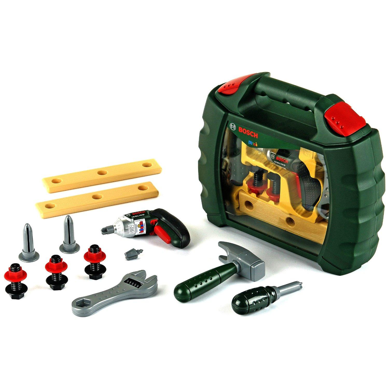 klein toys bosch werkzeugkoffer ixolino | testberichte.de