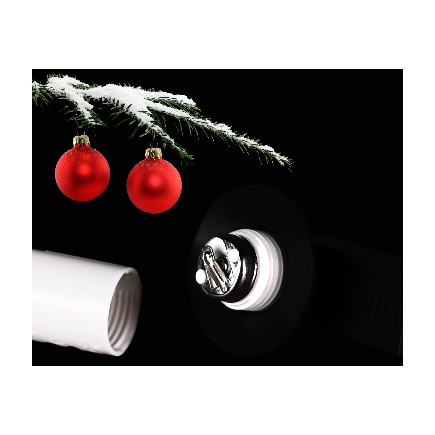 Kabellose Led Weihnachtsbeleuchtung.Rs Trade 30er Set Kabellose Led Weihnachtsbaumbeleuchtung