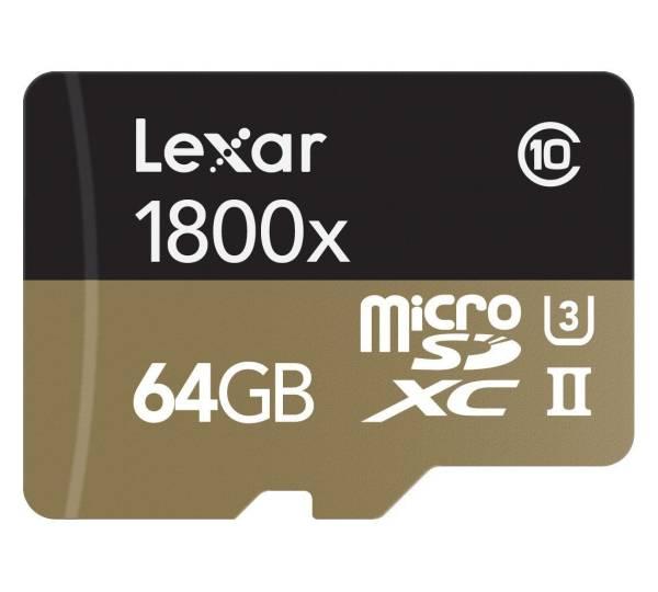 Carte UHS-I Lexar High-Performance 633x 256 Go microSDXC