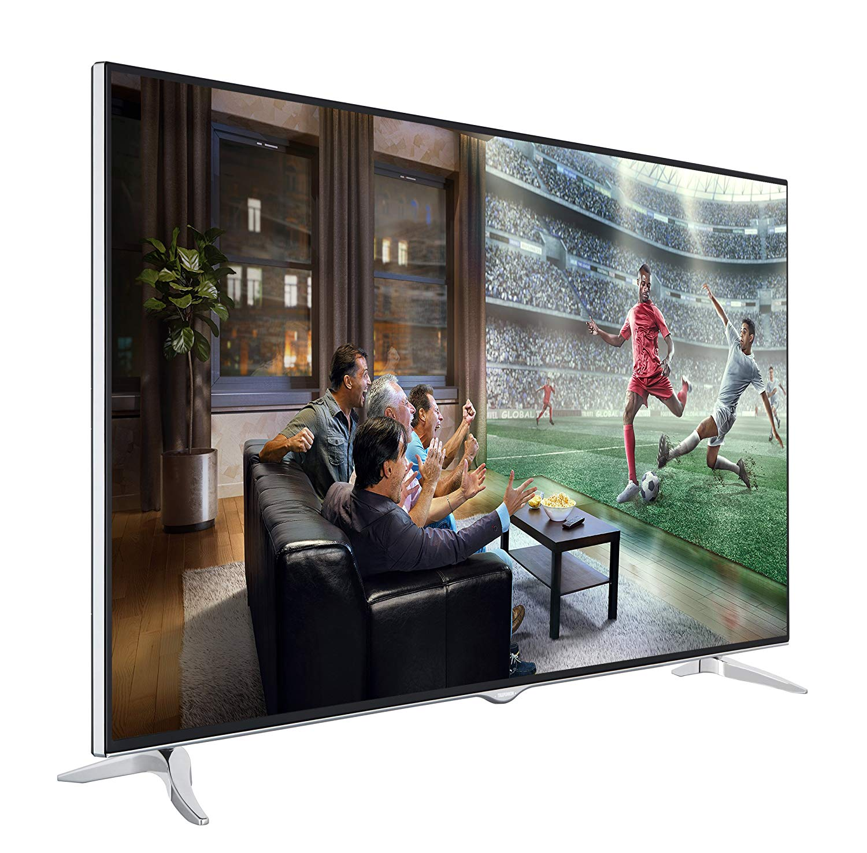 Stattlich Und Mit Feinem Bild Der 65 Zoll Ultra HD TV XU65D401 Bildquelle Amazonde
