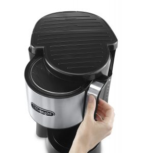 Delonghi ICM 40 T Kaffeemaschine Thermoskanne Tropf stopp Easy Warmhaltefunktion