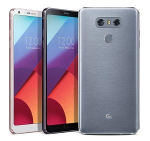 Dual camera on smartphone LG G6