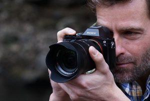 Äußfirst light-sensitive camera from Sony