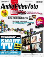 Audio Video Foto Bild - Heft 5/2013