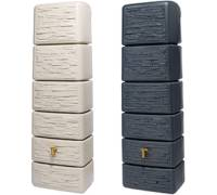 4rain slim stone decor 300 l. Black Bedroom Furniture Sets. Home Design Ideas