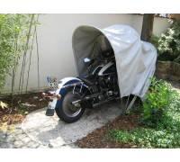 bikehome motorrad faltgarage im test. Black Bedroom Furniture Sets. Home Design Ideas