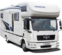 concorde reisemobile cruiser c1 940 mr 4 6 tdi tipmatic 162 kw test. Black Bedroom Furniture Sets. Home Design Ideas