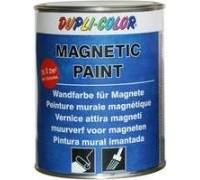 dupli color magnetic paint test wandfarbe. Black Bedroom Furniture Sets. Home Design Ideas