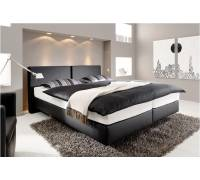 femira boxspring bett f100 mit topper couture ks test. Black Bedroom Furniture Sets. Home Design Ideas