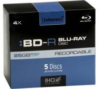 Intenso BD-R 4x (25 GB)