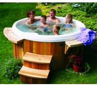 nordic hot tub crown ii. Black Bedroom Furniture Sets. Home Design Ideas