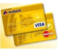postbank postbank visa mastercard gold doppel test. Black Bedroom Furniture Sets. Home Design Ideas