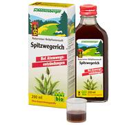 schoenenberger naturreiner heilpflanzensaft spitzwegerich bio test. Black Bedroom Furniture Sets. Home Design Ideas