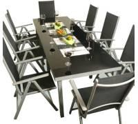 serina xxl alu sitzgarnitur. Black Bedroom Furniture Sets. Home Design Ideas