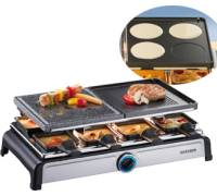 RG 2619 Raclette-Partygrill mit Naturgrillstein