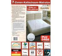 welze 7 zonen kaltschaummatratze test 7 zonen matratze. Black Bedroom Furniture Sets. Home Design Ideas