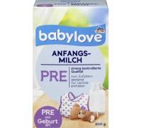 babynahrung pre test