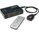 Compact HDMI Switch 5:1 Remote Full HD 1080p 3D