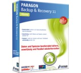 Backup-Software im Test: Backup & Recovery 11 Home von Paragon Software, Testberichte.de-Note: 1.7 Gut