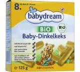 c0cd829b60a08f Babynahrung im Test  Bio Baby-Dinkelkeks von Rossmann   Babydream