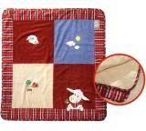 Sleepy Sheepy Organic Cotton, natur-blau-rot