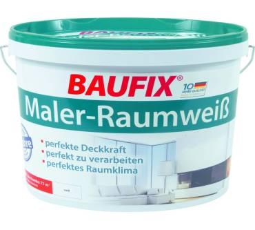 Baufix Maler Raumweiss Im Test