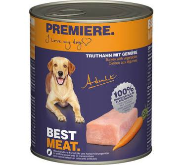 Fressnapf / Premiere Best Meat Adult (Truthahn & Gemüse