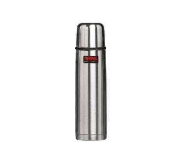 Thermos Isolierflasche Light/&Compact Steel matt 0,75 Liter Edelstahl matt
