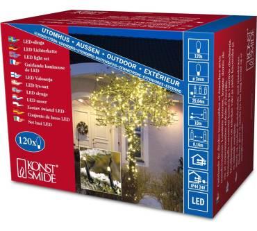 Konstsmide Weihnachtsbeleuchtung.Konstsmide 3612 110 Micro Led Lichterkette Test Testberichte De
