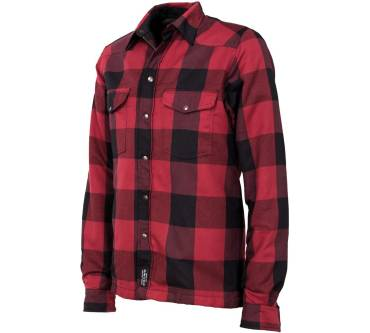 Lumberjack Shirt Red with Kevlar Produktbild
