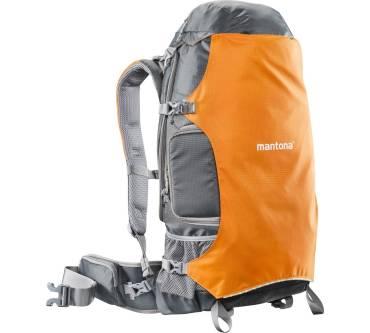 mantona Elements Outdoor Rucksack und Kameratasche mit Regenschutzhülle