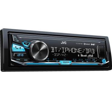 JVC KD-X341BT Autoradio Digital Media-Receiver mit Bluetooth Front USB Aux Radio