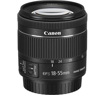 EF-S 18-55mm f/4-5,6 IS STM Produktbild