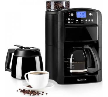 Klarstein Aromatica Set Kaffeemaschine Mit Mahlwerk Test