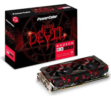 PowerColor Red Devil Radeon RX 580 8GB GDDR5 Produktbild