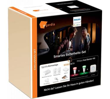 Smartes Sicherheits-Set (Egardia + Philips Hue) Produktbild