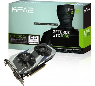 GeForce GTX 1060 OC 6GB Produktbild