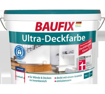 Baufix Ultra Deckfarbe Im Test Testberichtede Note