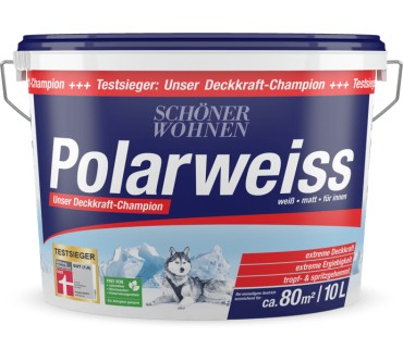 Schoner Wohnen Polarweiss Ohne Konservierungsmittel Test Testberichte De