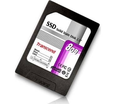 2.5'' Solid State Disk 8GB (TS8GSSD25-S) Produktbild