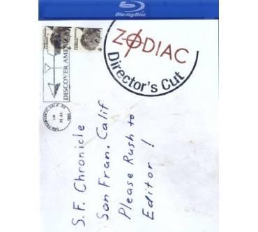 Blu Ray Zodiac Die Spur Des Killers Directors Cut Test