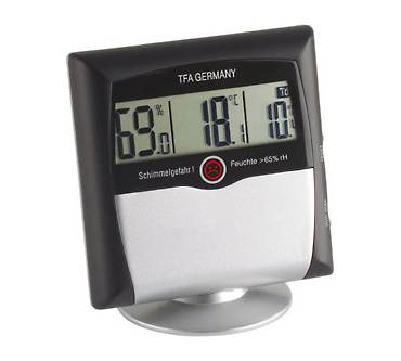 Digitales Thermo-Hygrometer Comfort Control Produktbild