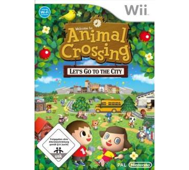 Animal Crossing: Let's go to the City (für Wii) Produktbild