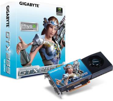 GeForce GTX 285 (1 GB) Produktbild