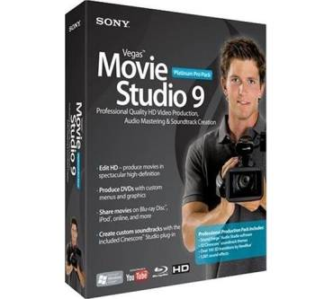 Vegas Movie Studio 9 Platinum Pro Pack Produktbild