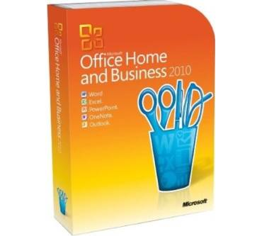 Office 2010 Home and Business Edition Produktbild
