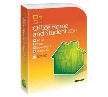 Office 2010 Home and Student Edition Produktbild
