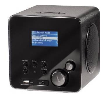 IR 100 Wireless Lan Internet Radio Produktbild